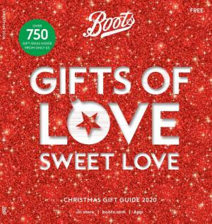 boots offers christmas gift guide 2020