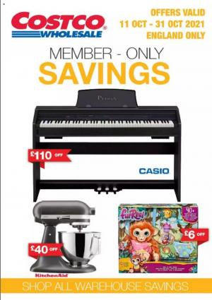 costco offers member only savings 11 31 october 2021