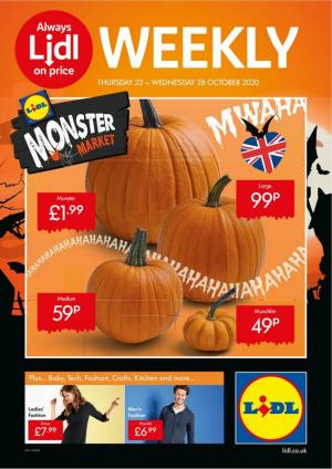 lidl offers 22 october 2020