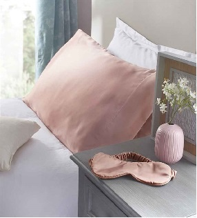 Satin Pillowcase & Sleep Mask