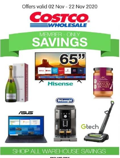 costco offers member only savings 2 november 2020