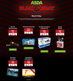 asda black friday offers 18 - 22 nov 2020