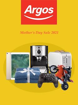 argos catalogue mother's day sale 2021