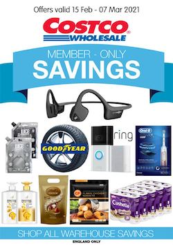 costco offers member only savings 15 february 2021