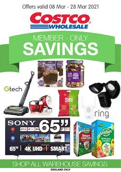 costco offers member only savings 8 23 march 2021