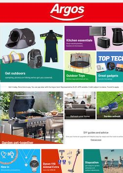 argos catalogue online clearance 24 apr - 8 may 2021