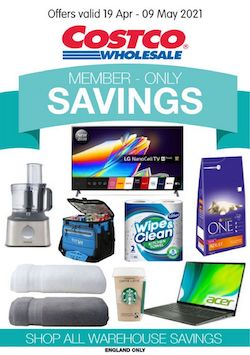 costco offers member only savings 19 apr 9 may 2021