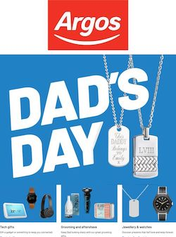 argos catalogue online father's day 2021