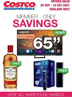 costco offers member only savings 20 sep 10 oct 2021