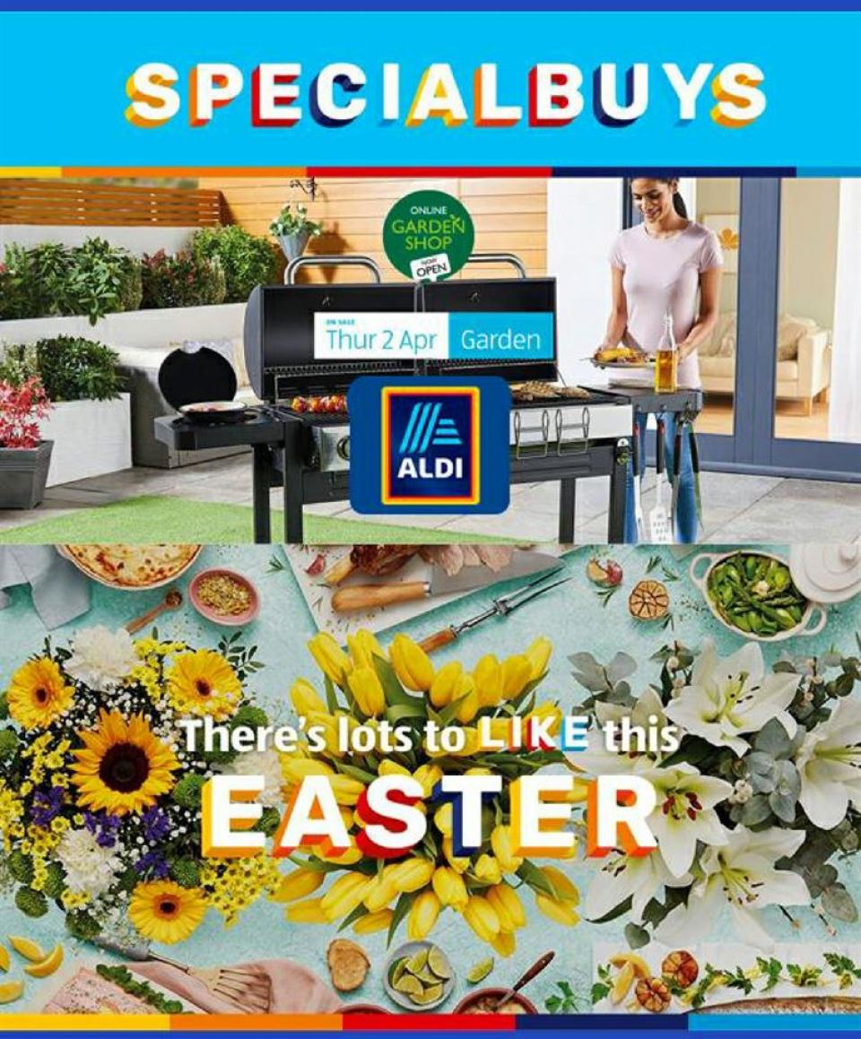aldi offers easter special buys 10 april 2020