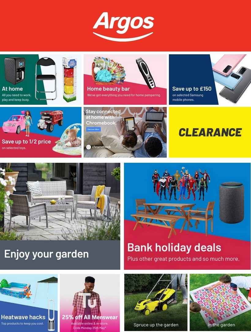 argos catalogue 25 may 2020