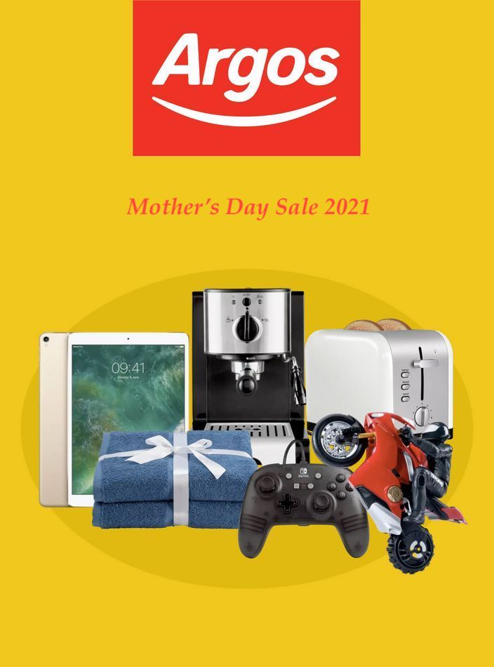 argos catalogue mothers day sale 2021