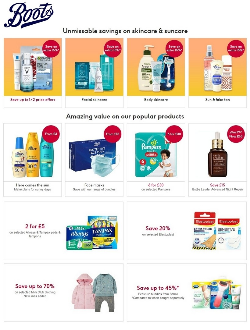 boots offers 15 june 2020