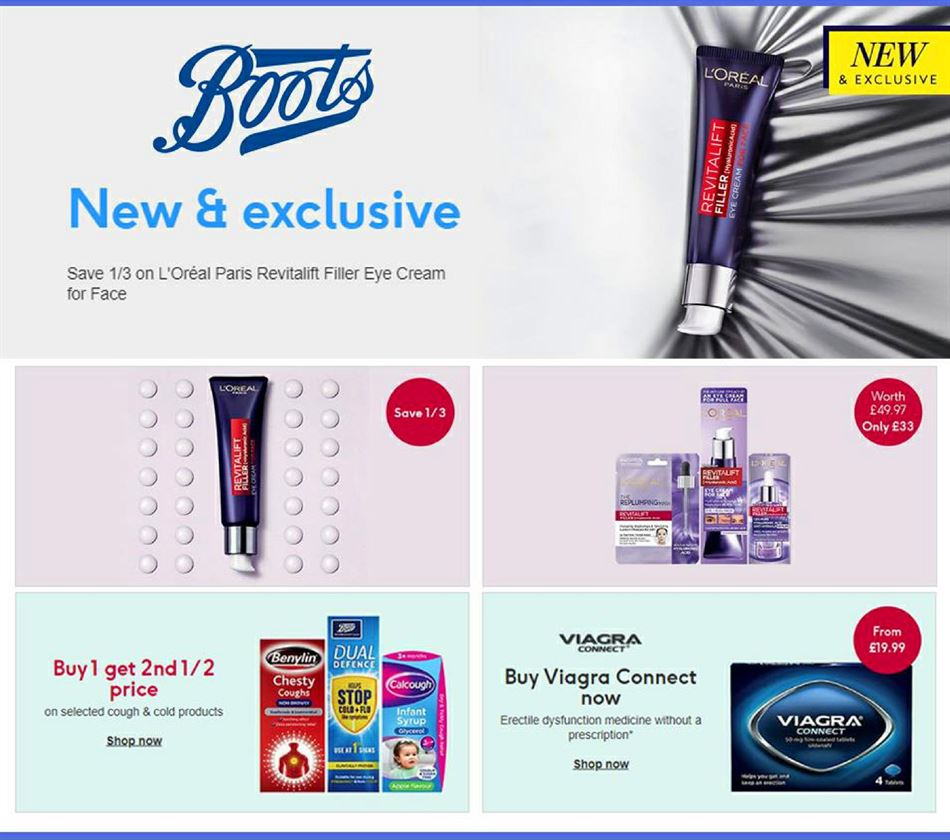 boots offers 29 october 2020