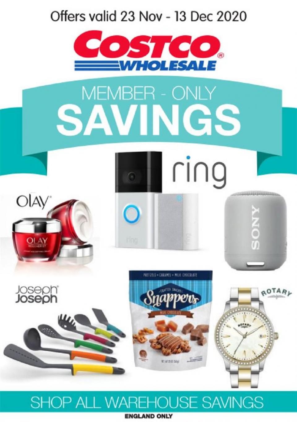 costco offers member only savings 23 november 2020