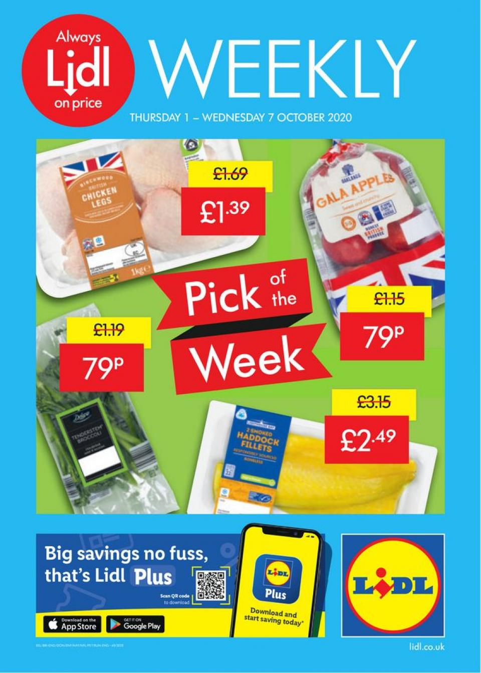 lidl offers 1 october 2020