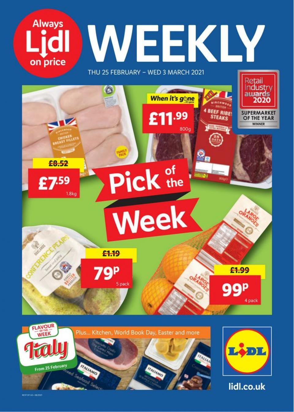lidl offers 25 february 2021
