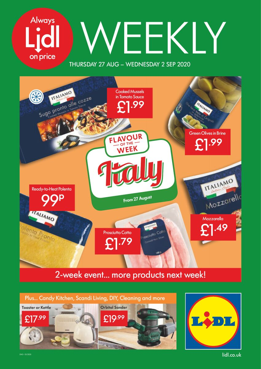 lidl offers 27 august 2020