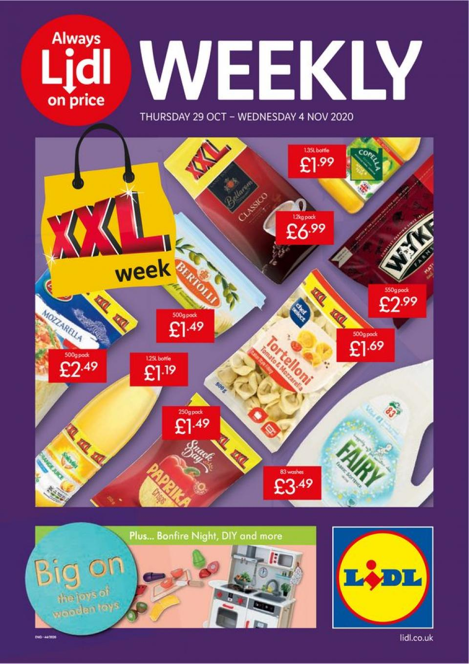 lidl offers 29 october 2020