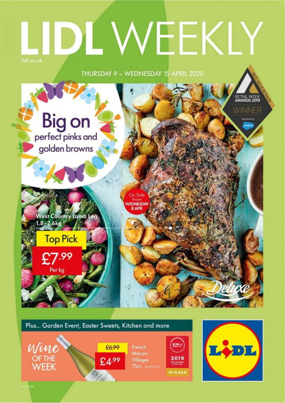 lidl offers weekly catalog 09 april 2020