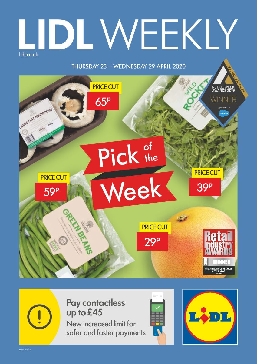 lidl offers weekly catalog 23 april 2020