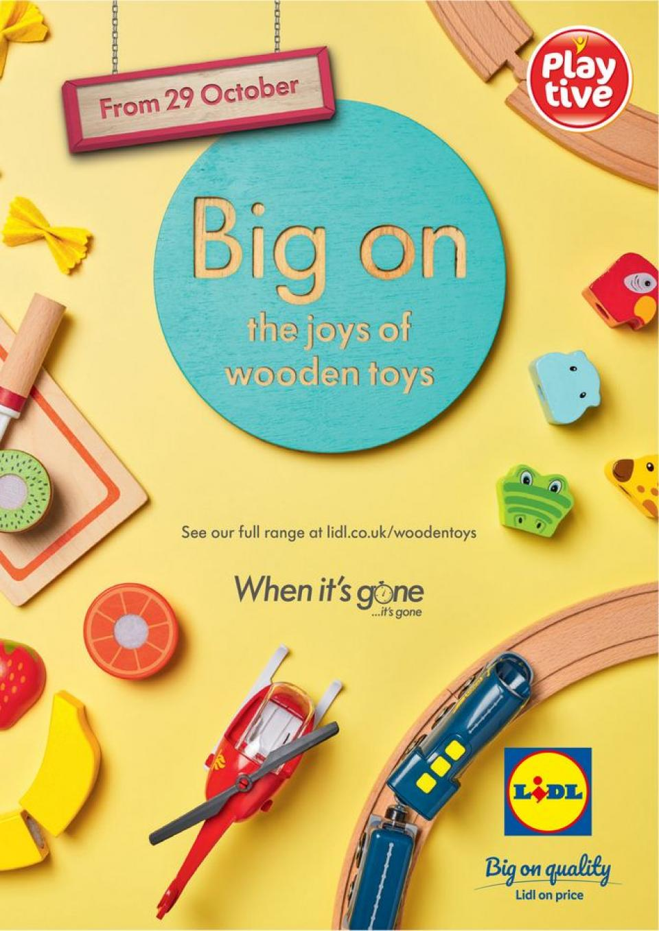lidl offers wooden toys 22 october 2020