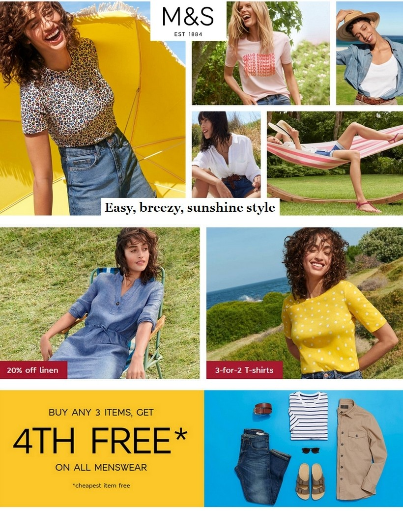 marks and spencer sale 14 june 2020