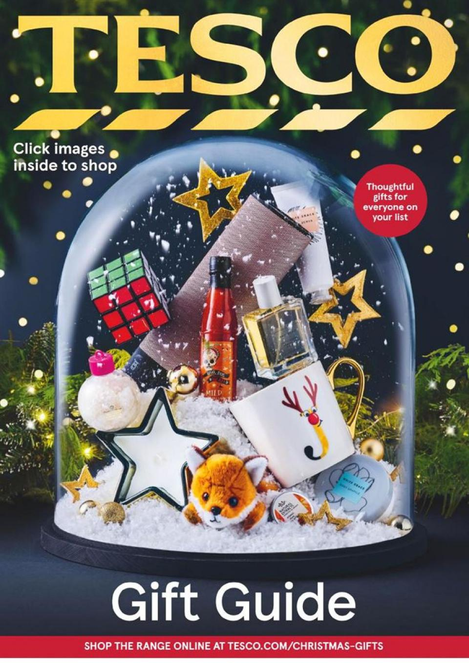 tesco offers gift guide 2 november 2020
